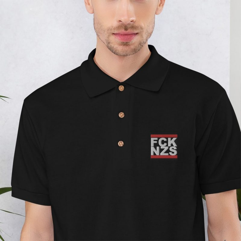 FCK NZS Embroidered Polo Shirt