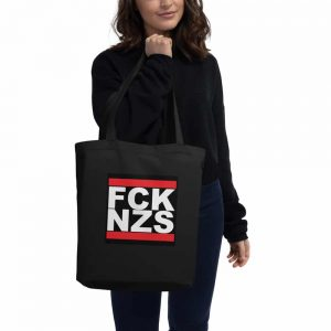 FCK NZS organic cotton tote bag