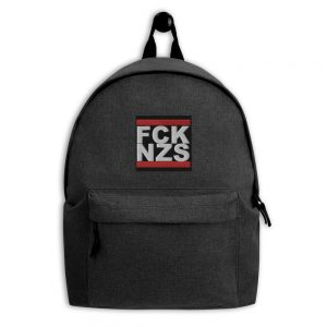 FCK NZS Embroidered Backpack