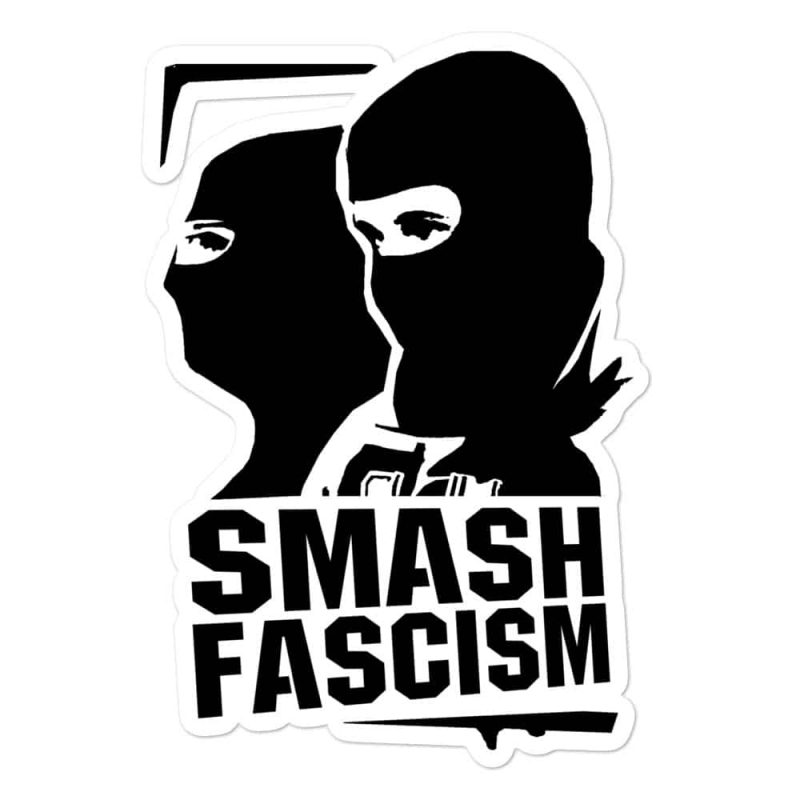 Smash Fascism Bubble-free Stickers