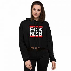 FCK NZS Crop Hoodie