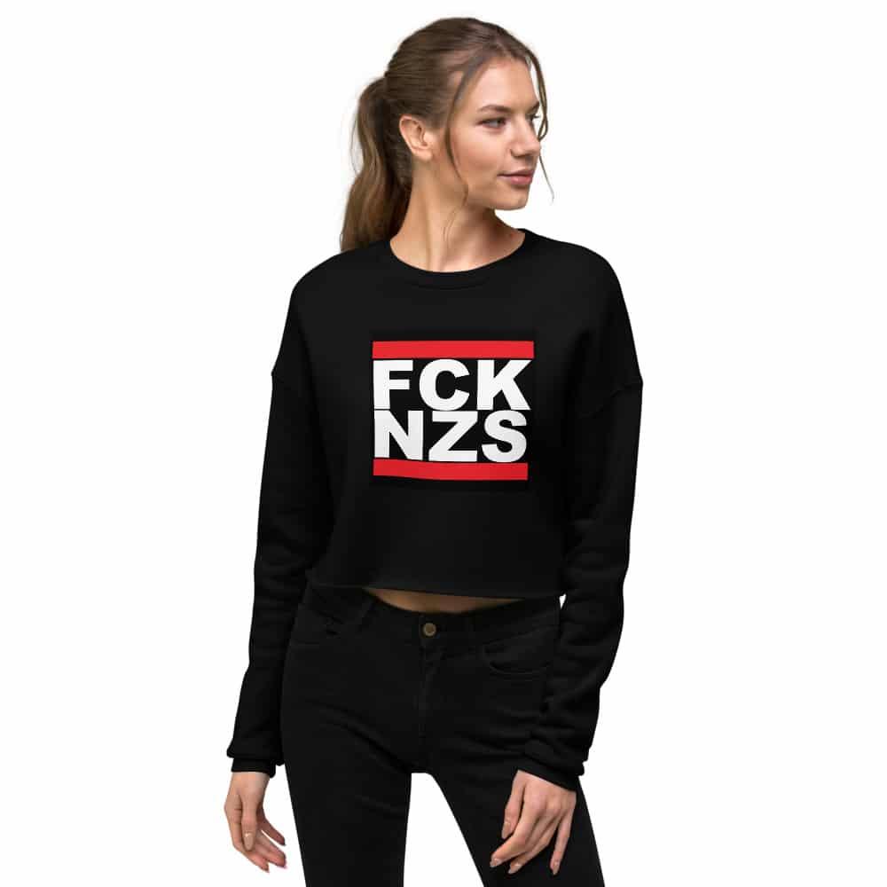 FCK NZS Crop Sweatshirt