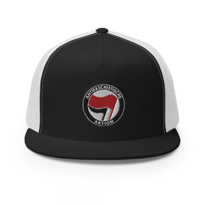 Antifa Antifaschistische Aktion Flag Trucker Cap