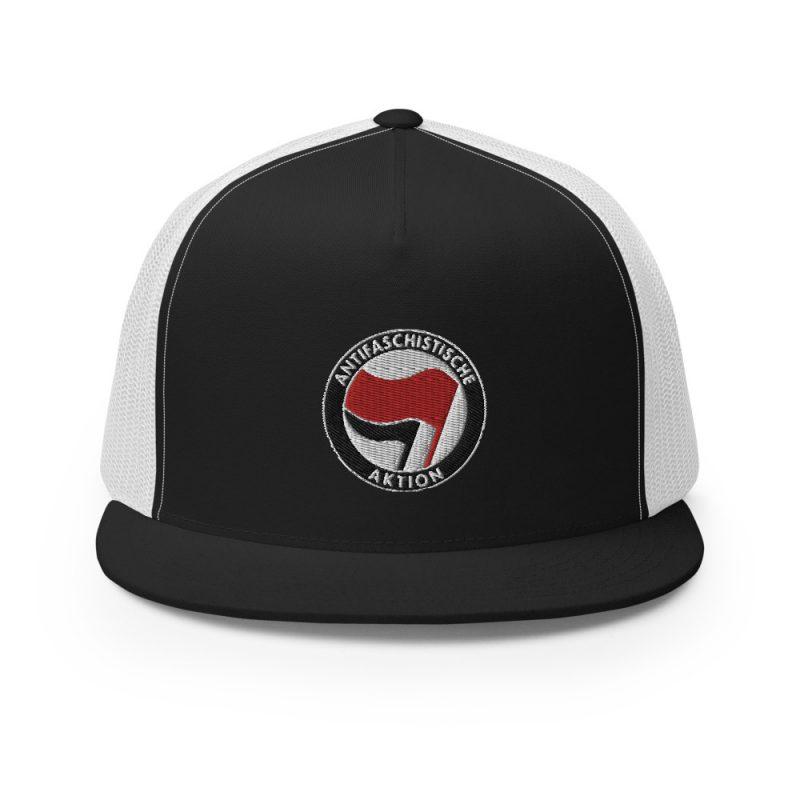 Antifa Antifaschistische Aktion Flag Trucker Cap