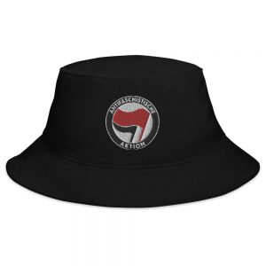 Antifa Antifaschistische Aktion Flag Bucket Hat