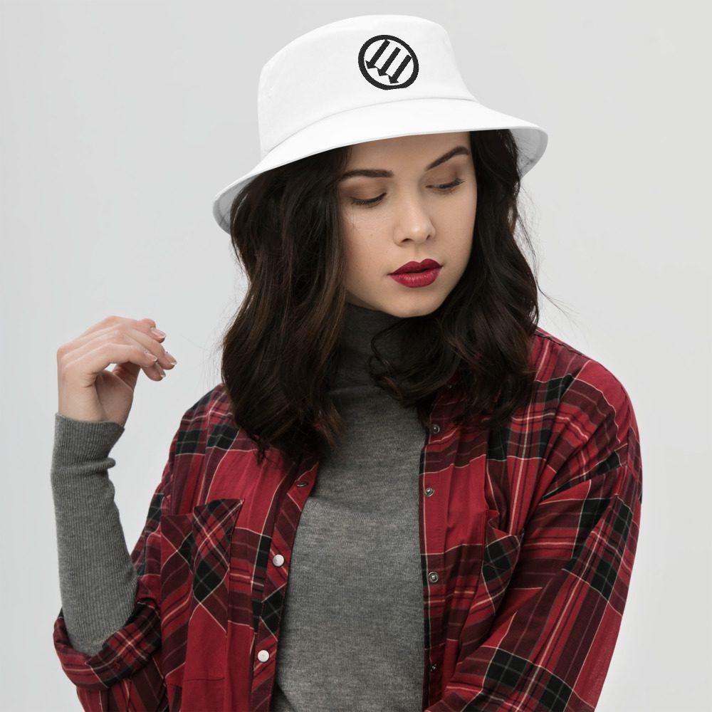 Antifa Iron Front 3 Arrows Bucket Hat