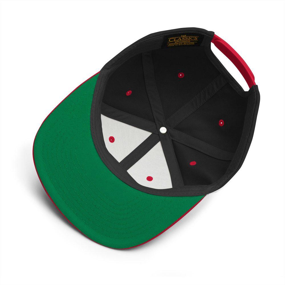 ntifa Antifaschistische Aktion Flag Snapback Hat