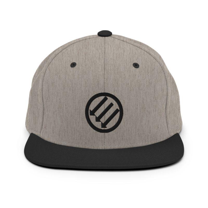 Antifa Iron Front 3 Arrows Snapback Hat