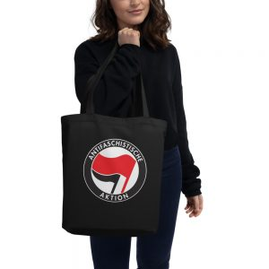 Antifa Antifaschistische Aktion Flag Eco Tote Bag