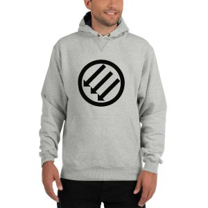 Antifa Iron Front 3 Arrows Champion Hoodie