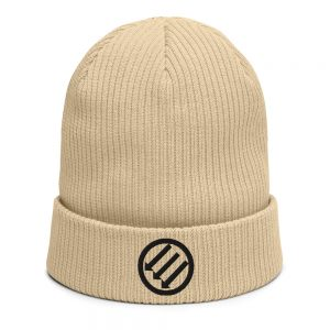 Antifa Iron Front 3 Arrows Organic Ribbed Beanie