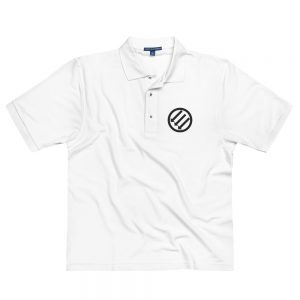 Antifa Iron Front 3 Arrows Men's Premium Polo