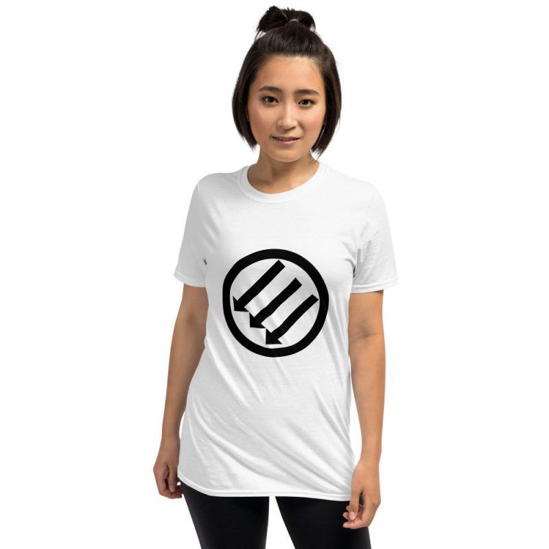 Antifa Iron Front 3 Arrows Short-Sleeve Unisex T-Shirt