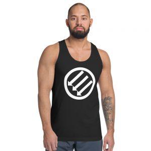 Antifa Iron Front 3 Arrows W Classic Tank Top (Unisex Vest)