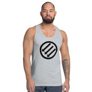 Antifa Iron Front 3 Arrows Classic Tank Top (Unisex Vest)