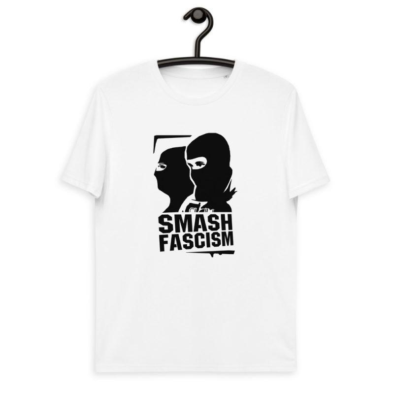 Smash Fascism Unisex Organic Cotton T-shirt