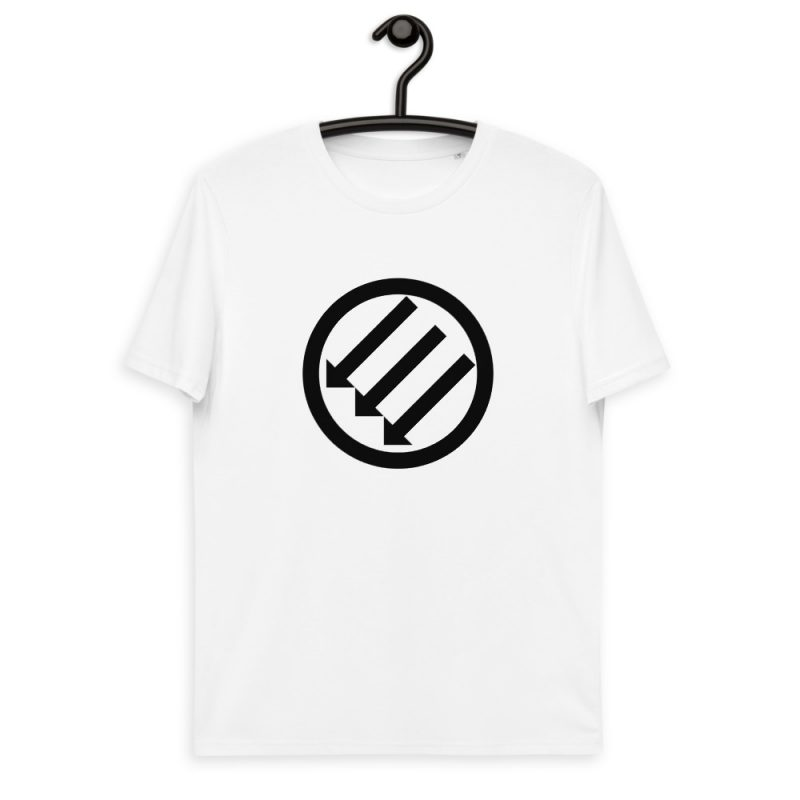 Antifa Iron Front 3 Arrows Unisex Organic Cotton T-shirt
