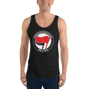 Antifa Antifaschistische Aktion Flag Unisex Tank Top Vest