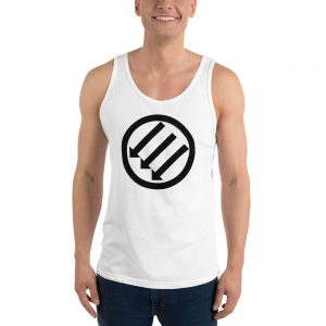 Antifa Iron Front 3 Arrows Unisex Tank Top