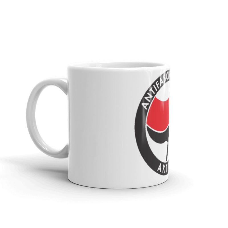 Antifa Antifaschistische Aktion Flag Mug