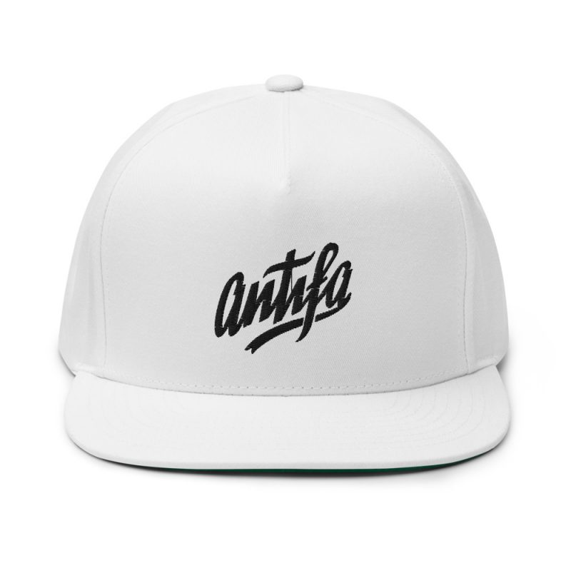 Antifa Flat Bill Cap