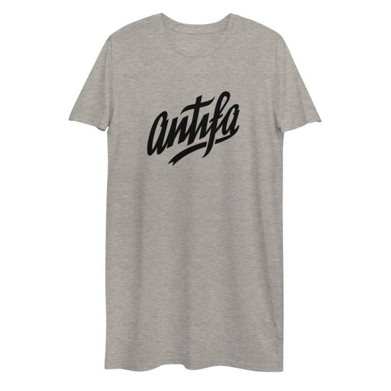 Antifa Organic Cotton T-shirt Dress
