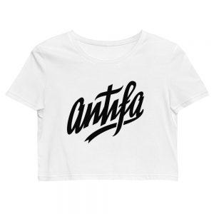 Antifa Organic Crop Top