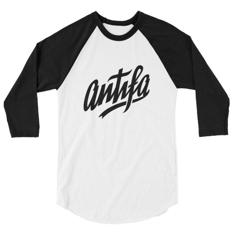 Antifa 3/4 Sleeve Raglan Shirt