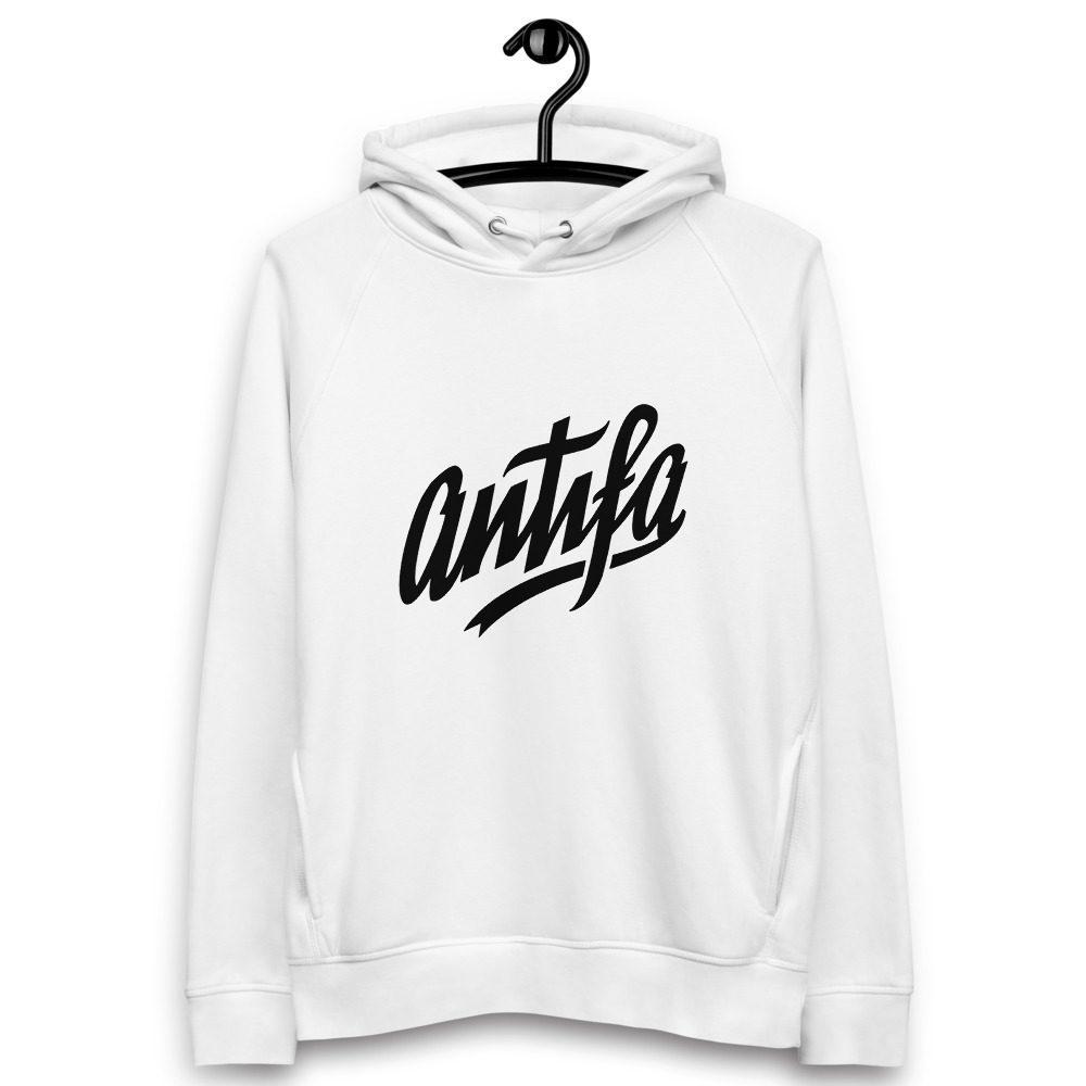 Antifa Organic Unisex Pullover Hoodie
