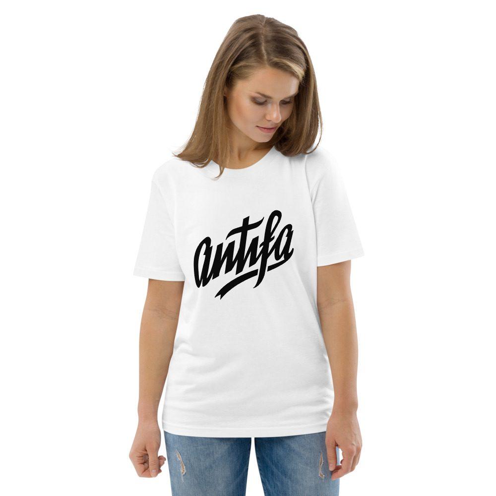 Antifa Unisex Organic Cotton T-shirt
