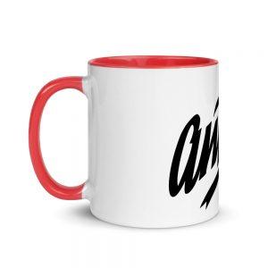 Antifa Mug with Color Inside