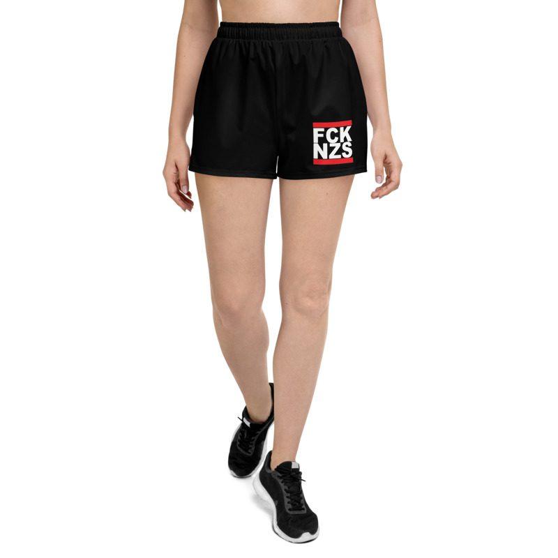 FCK NZS Women's Athletic Black Shorts
