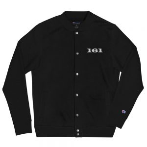 161 Embroidered Champion Bomber Jacket
