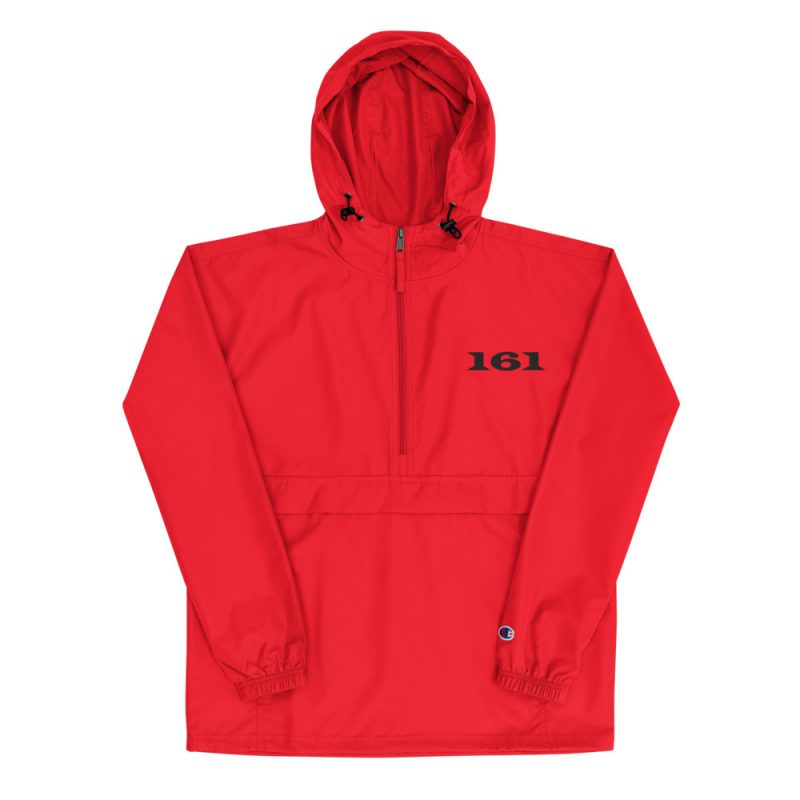161 Embroidered Champion Packable Jacket