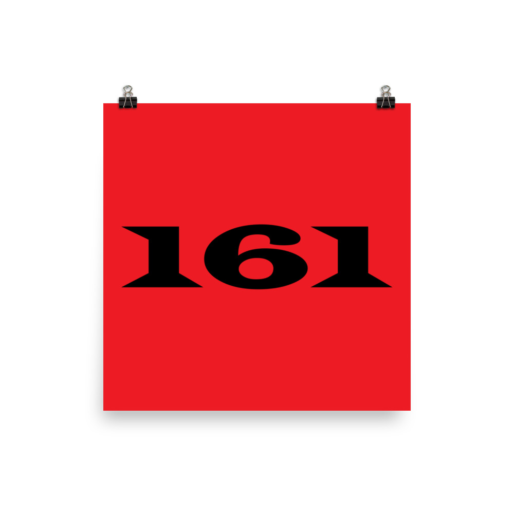 161 Poster