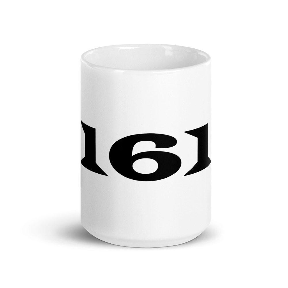 161 White Glossy Mug