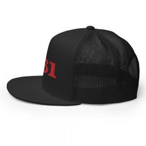 161 Red Trucker Cap