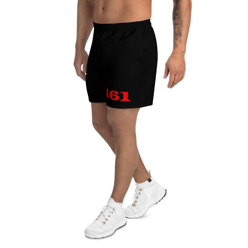 161 Red Men's Long Shorts