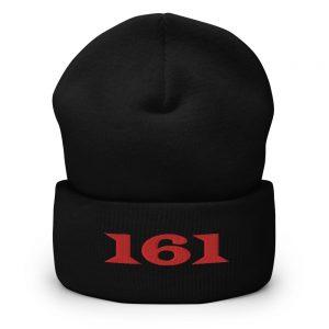 161 Red Cuffed Beanie