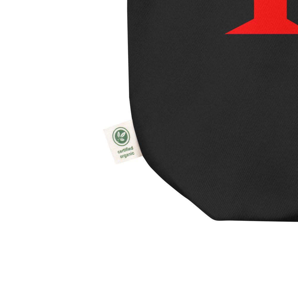 161 Red Organic Tote Bag