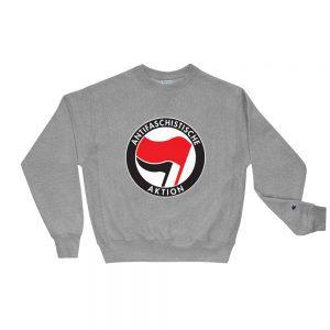 Antifa Antifaschistische Aktion Champion Sweatshirt