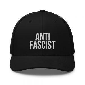 Anti-Fascist Retro Trucker Cap