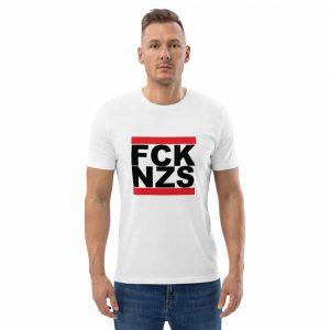 FCK NZS B Unisex Organic Cotton T-shirt