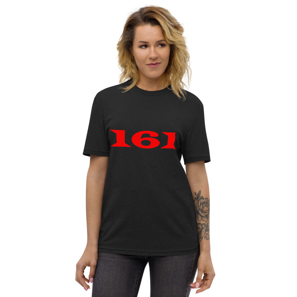 161 Red Unisex Recycled T-shirt