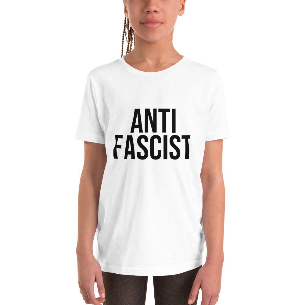 Anti-Fascist Kids Short Sleeve T-Shirt