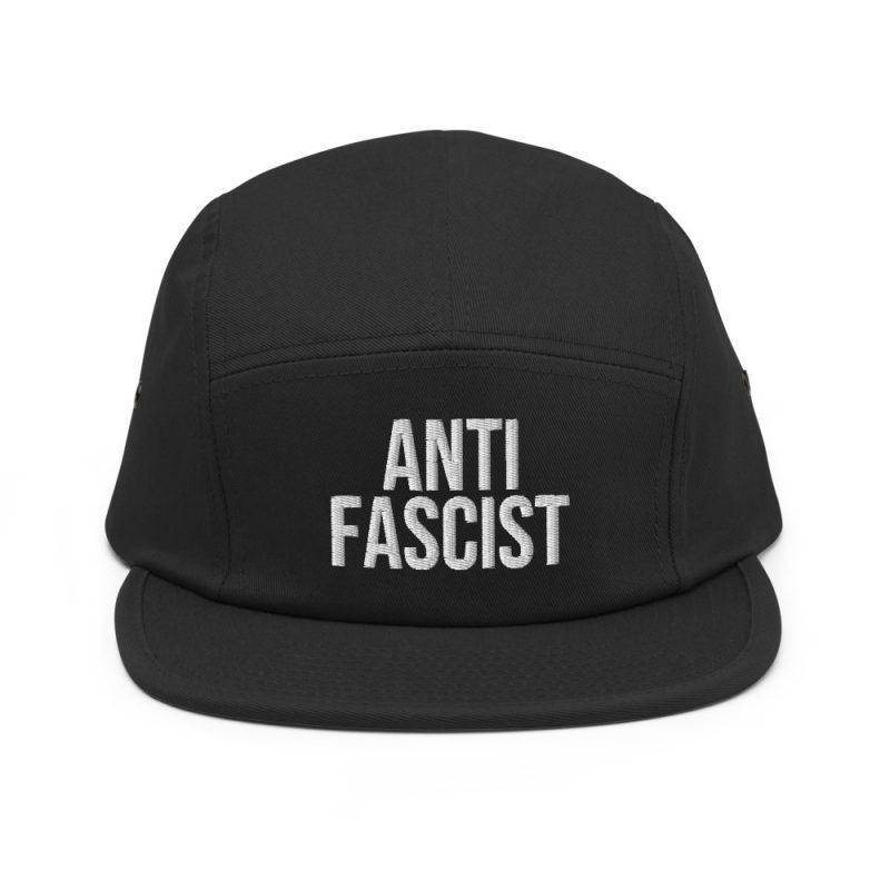 Anti-Fascist Five Panel Cap
