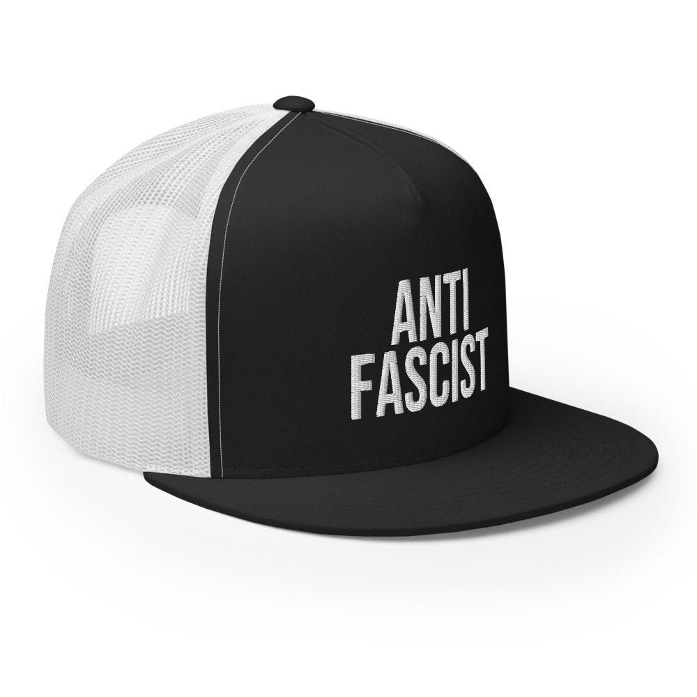 Anti-Fascist Trucker Cap