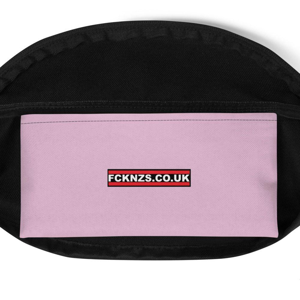 Anti-Fascist Pink Fanny Pack/Bum Bag
