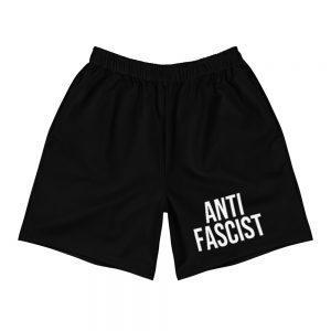 Anti-Fascist Men's Long Shorts