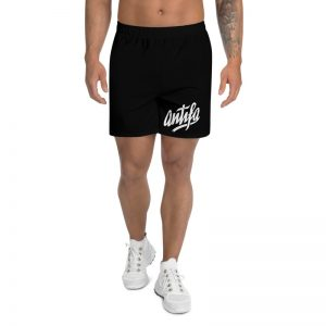 Antifa Black Men's Long Shorts